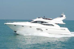 "Luxury Yacht from Riviera: The Integrity 69' 7"" #yachts #yacht #yachting #yachtlife #luxury #integrity69'7"" #reviera #2019riviera #motoryacht #boat #bevhillsmag #beveryhillsmagazine #beverlyhills #dubaiboatshow"