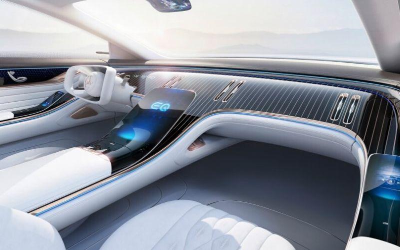 Futuristic Dream Car: The Mercedes Vision EQS #dreamcars #luxurycars #coolcars #cars #fastcars #carmagazine #beverlyhills #beverlyhillsmagazine #mercedes #mercedesbenz
