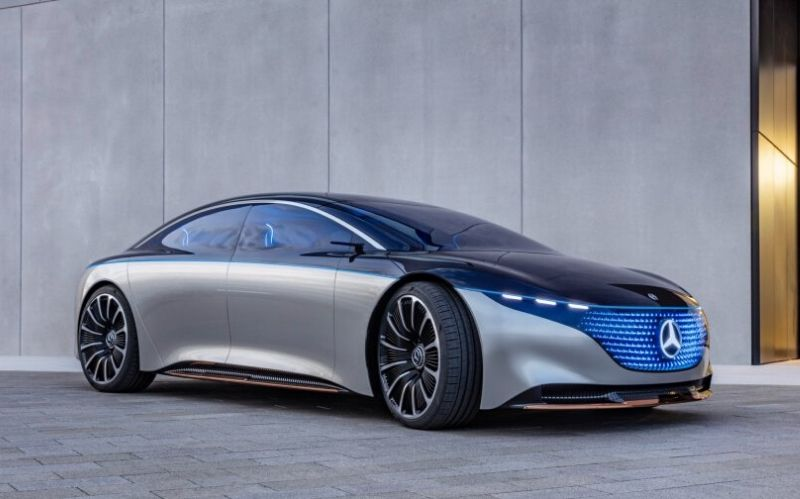 Futuristic Dream Car: The Mercedes Vision EQS #dream cars #luxurycars #coolcars #cars #fastcars #carmagazine #beverlyhills #beverlyhillsmagazine #dreamcars