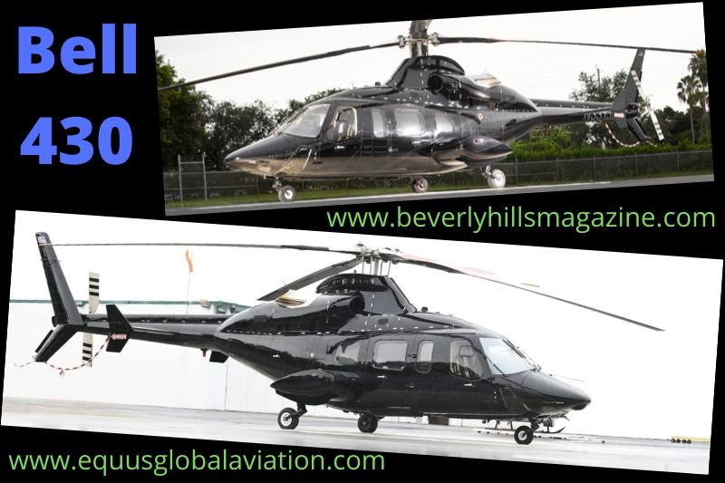 Executive Twin-engine Helicopter: The Bell 430#helicopter#cool helicopter#buy a helicopter#shop helicopter online#beverly hills#beverly hills magazine