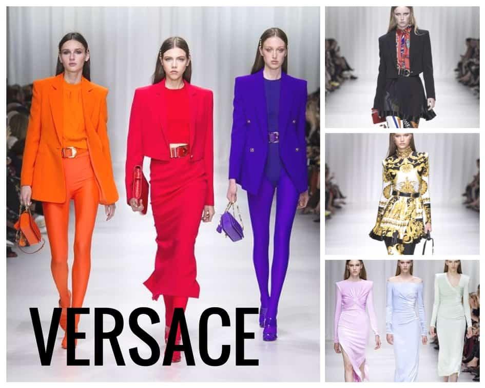 Versace SS 2018 Runway Fashion Style