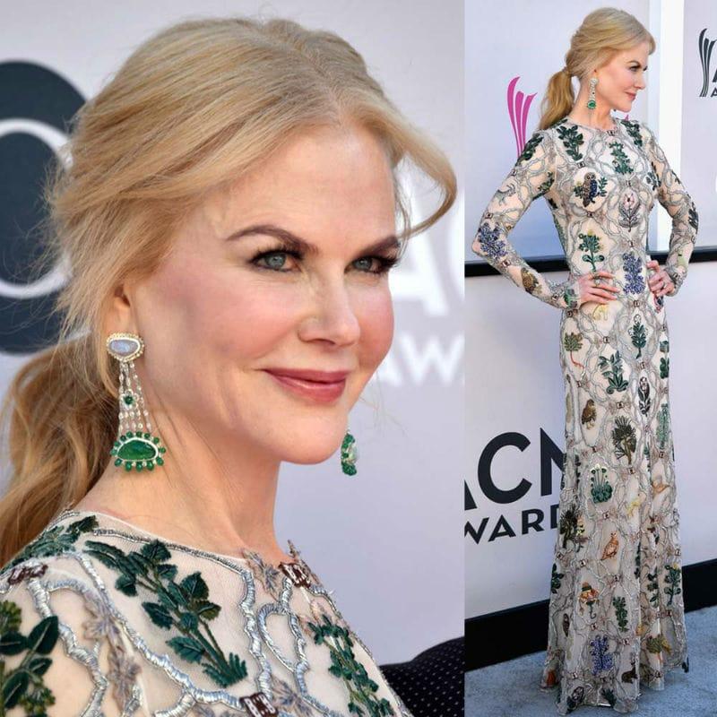 Beatifyl Celebrity Nicole Kidman on the red carpet
