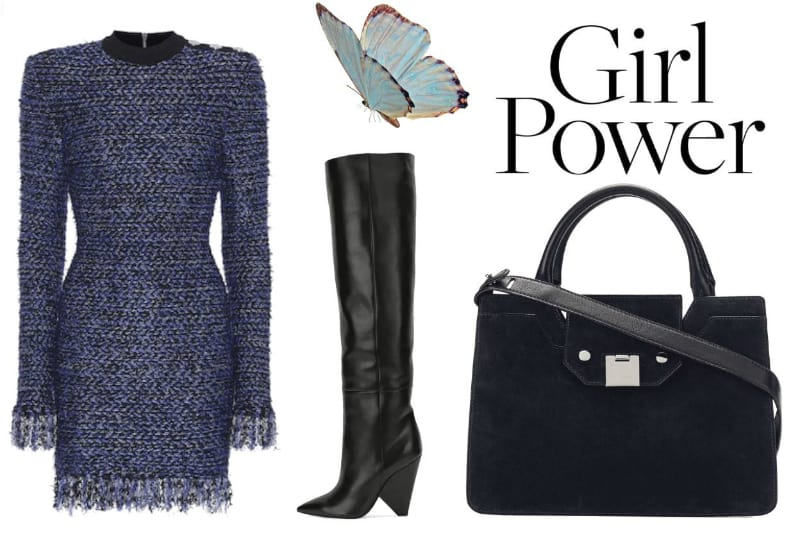 Blue Balmain Fashion For Women. SHOP NOW!!! #shop #fashion #style #shop #shopping #clothing #beverlyhills #dress #shoes #boots #beverlyhillsmagazine #bevhillsmag #dresses #balmain