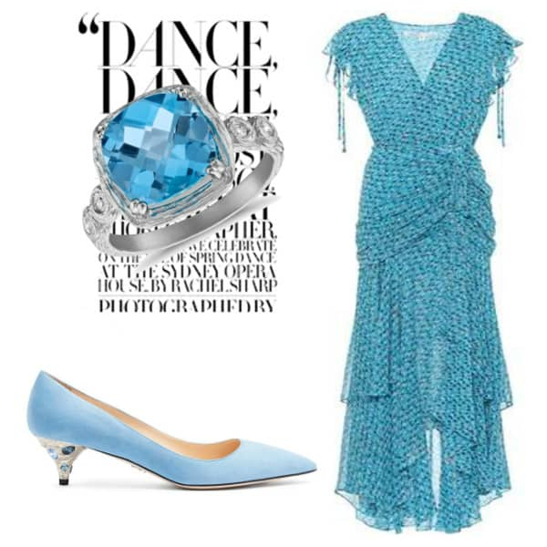 Blue Summer Style. BUY NOW!!! #BevHillsMag #beverlyhillsmagazine #fashion #shop #style #shopping