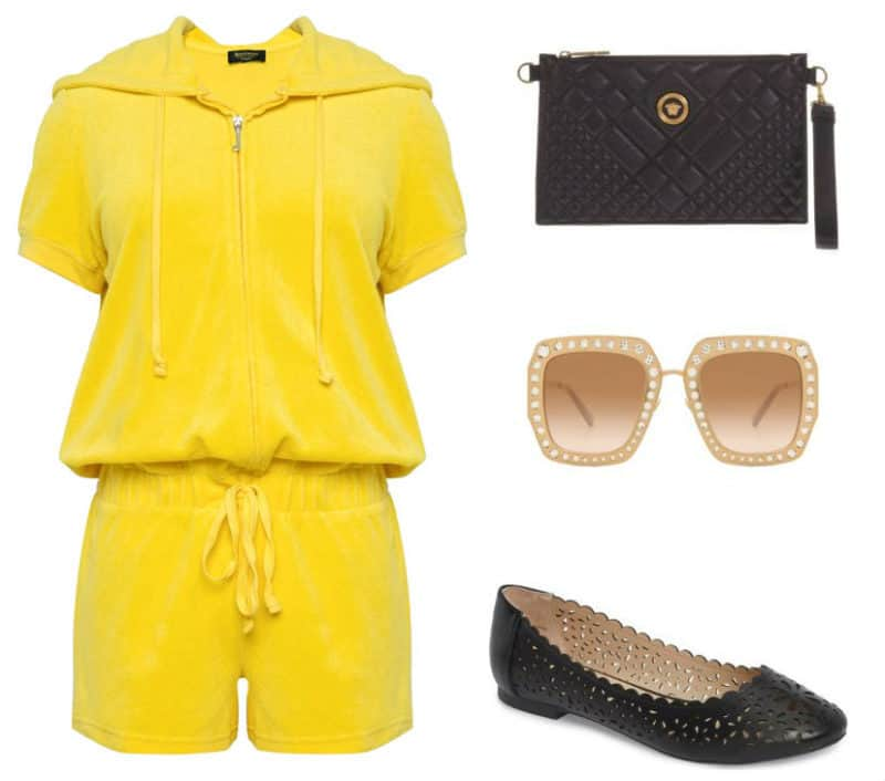 Bright Casual Style. SHOP NOW!!! #beverlyhillsmagazine #beverlyhills #fashion #style #shop #shopping #handbag #purse #clutch #handbags #shoes #Versace #juicy #styles