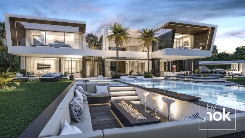 Flawless By Nok Modern Villa in Madrid, Spain