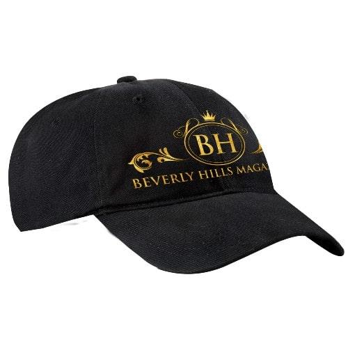 Brushed Twill Cap in Black. BUY NOW!!! #BHMStore