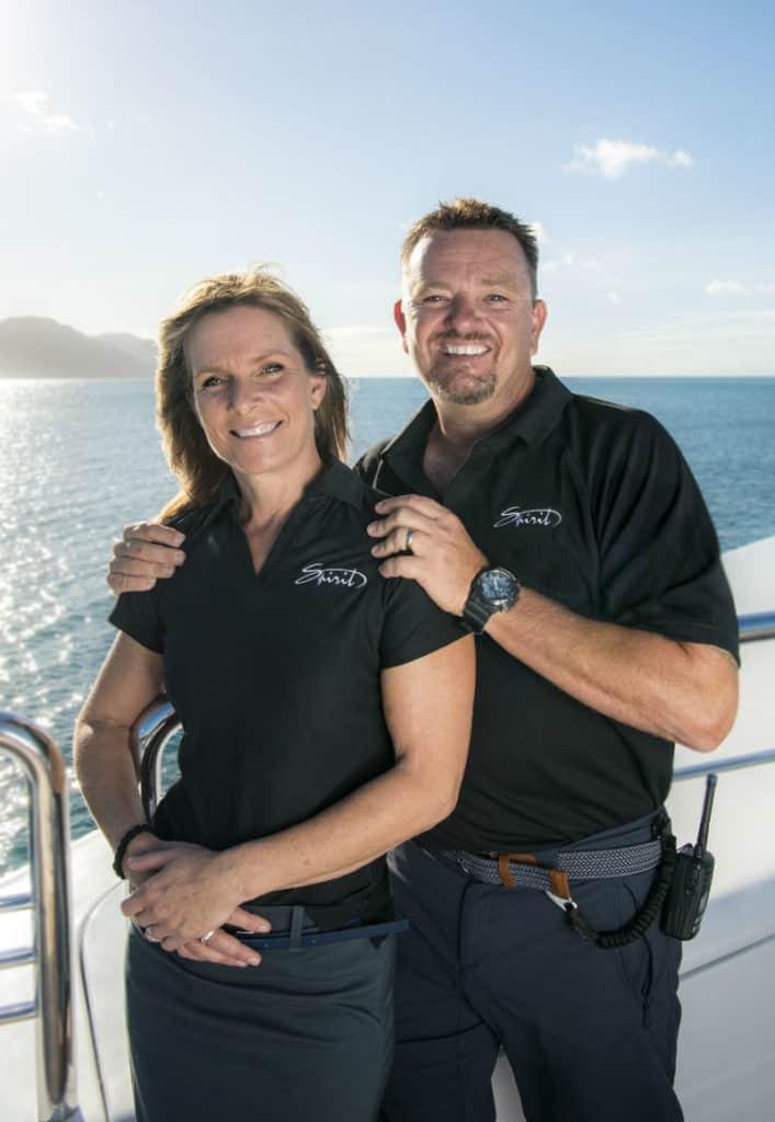Captain Martin & Chef Jo Debanks