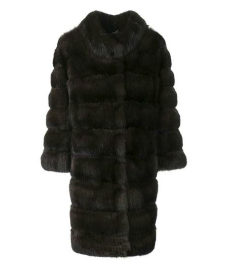 Cara Mila Sabina Sable Fur Coat