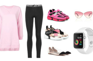 Casual Fitness Fashion in Pink. BUY NOW!!! #shop #fashion #style #shop #shopping #clothing #beverlyhills #fitness #shoes #sneakers #clothes #pink #fitness #beverlyhillsmagazine #bevhillsmag