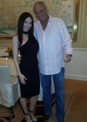 Jacqueline Maddison with Neal Cohen of BWR Pr, Beverly Hills, CA 90210