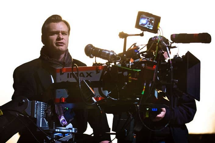 "Director CHRISTOPHER NOLAN on the set of Warner Bros. Pictures' and Legendary Pictures' action thriller ""THE DARK KNIGHT RISES,"" a Warner Bros. Pictures release. TM & © DC Comics."