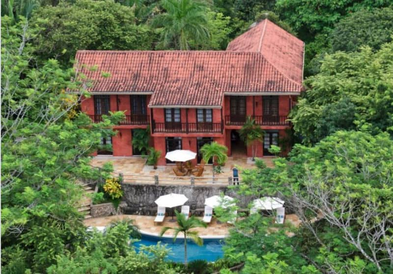 Mel Gibson Jungle Mansion