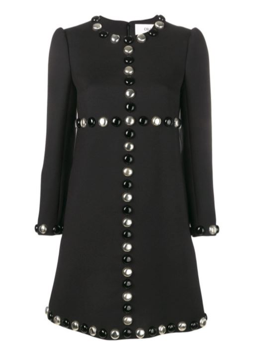 Fabulous Celine Dress In Black