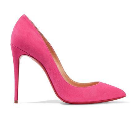 Pink Christian Louboutin Heels. BUY NOW!!! #BevHillsMag #beverlyhillsmagazine #fashion #style #shopping