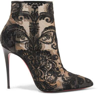 Christian Louboutin Ankle Boots. BUY NOW!!! ♥ #BevHillsMag #beverlyhillsmagazine #fashion #style #shopping
