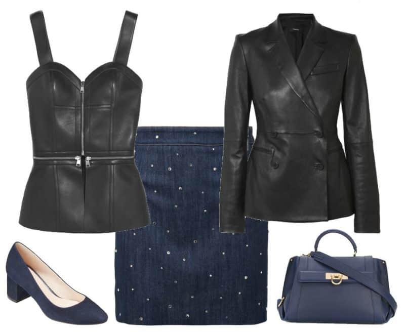 Classy Blue Celebrity Style. SHOP NOW!!! #BevHillsMag #beverlyhillsmagazine #fashion #style #shopping