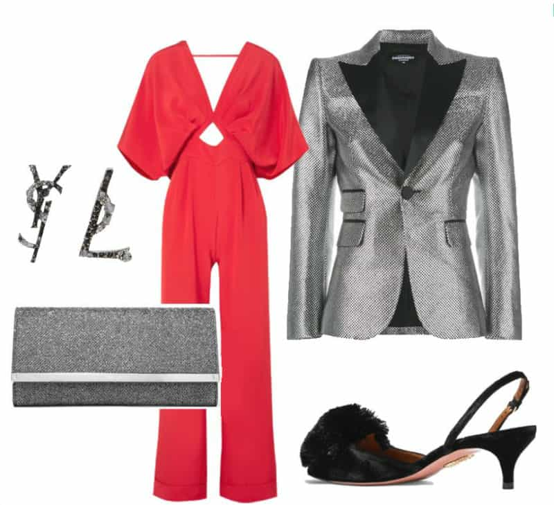 Classy Evening Romper Style. SHOP NOW!!! #beverlyhillsmagazine #beverlyhills #fashion #style #shop #shopping #shoes #highheels