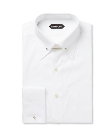 Tom Ford White Collared Shirt. BUY NOW!