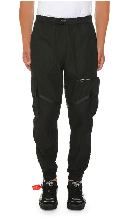 Black Parachute Cargo Pants For Men. BUY NOW!!! #fashion #style #shop #shopping #clothing #beverlyhills #styleformen #beverlyhillsmagazine #bevhillsmag