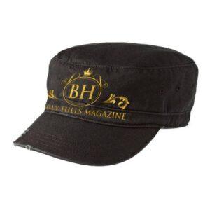 Distressed Ladies Cap. BUY NOW! #BHMStore #BevHillsmag #shop