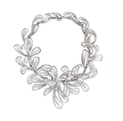 Pavlin Silver Diamond Necklace