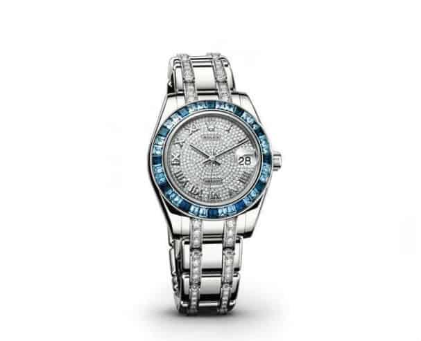 Blue #Diamond Ladies #Rolex Watch. BUY NOW!!! #ladies #watch #cool #watches #sweet #timepiece #time #style #watchesofinstagram #style #fashion #fashionblogger #beautiful #gift #ideas #giftsforher #beverlyhills #BevHillsMag #beverlyhillsmagazine