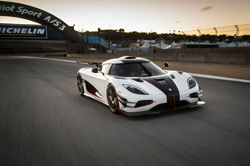 Koenigsegg ONE 1: Cool Car Among Fast Cars