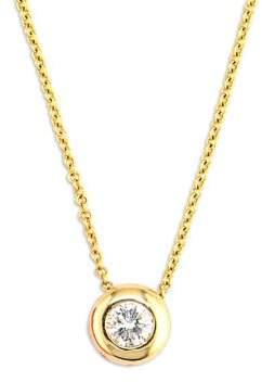 14K Gold Diamond Pendant Necklace. BUY NOW!!!