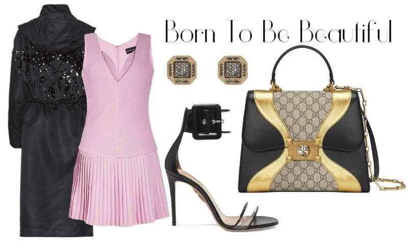 Elegant Tri-Tone Style. SHOP NOW!!! #shop #fashion #style #shop #shopping #clothing #beverlyhills #dress #dresses #shoes #highheels #jewelry #earrings #gold #diamonds #silver #pink #beverlyhillsmagazine #bevhillsmag
