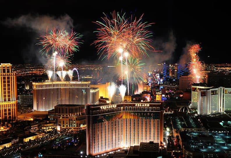 NYE in Las Vegas