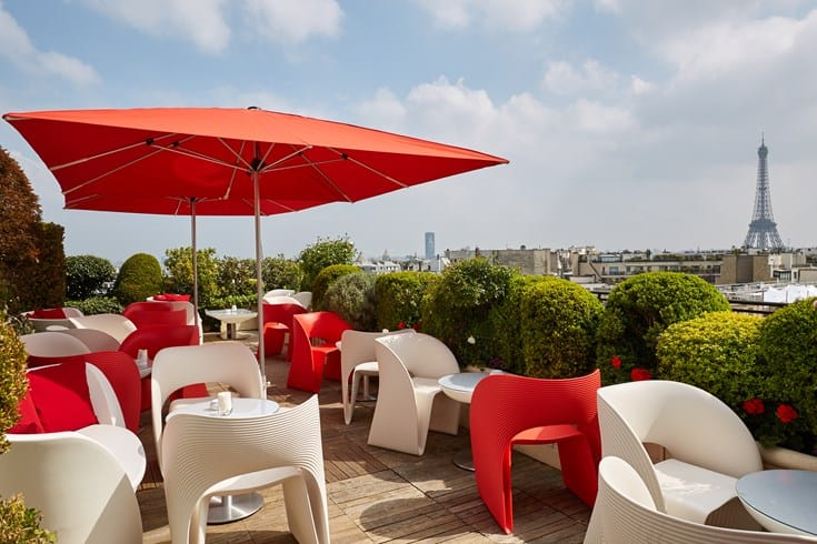 Romantic Getaway: Hotel Raphael, Paris