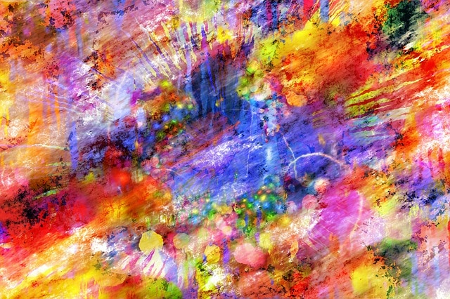 Bright Colorful Abstract Artwork