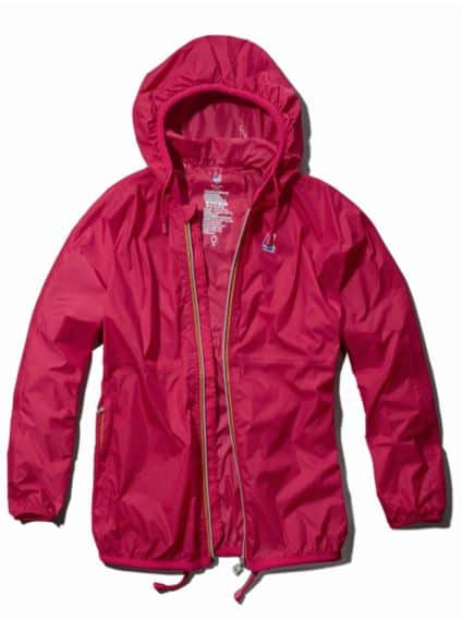 K-Way waterproof jackets by Abercrombie & Fitch