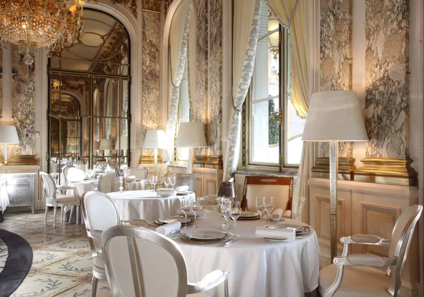Best restaurants in paris france beverly hills magazine for Hotel design france