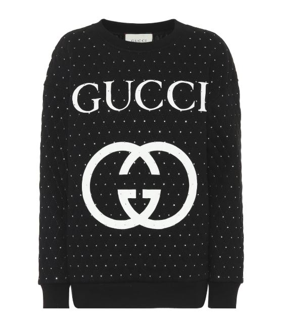 Black and White GUCCI Logo Embellished Sweater. BUY NOW!!! #shop #fashion #style #shop #shopping #clothing #beverlyhills #dress #shoes #boots #beverlyhillsmagazine #bevhillsmag #handbags #purses #bags #jewelry #jewellery #rings #diamonds #diamond #ring