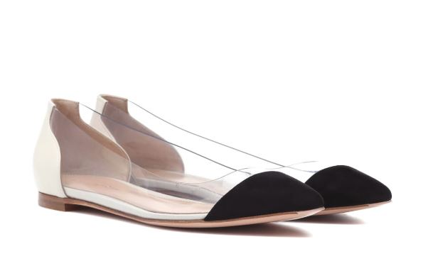 Gianvito Rossi Ballerina Flats. BUY NOW!!! #fashion #style #shop #shopping #clothing #beverlyhills #balletflats #flats #shoes #clothes #beverlyhillsmagazine #bevhillsmag