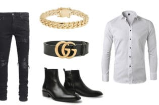 Golden Fashion For Men. SHOP NOW!!! #shop #fashion #style #shop #shopping #clothing #beverlyhills #dress #shoes #boots #beverlyhillsmagazine #bevhillsmag #styleformen #manstyles #guystuff #giftsforhim #stylesofrmen