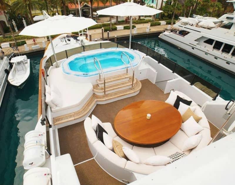Grand Illusion 145 Palmer Johnson For Sale $11,500,000 #beverlyhills #beverlyhillsmagazine #bevhillsmag #yacht #megayachts #travel #luxury #lifestyle
