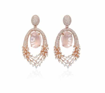 Hueb 18K Rose Gold Diamond Luminous Earrings. BUY NOW!!! #beverlyhills #watches #shop #jewelry #necklace #rings #earrings #bevhillsmag #bevelryhillsmagazine