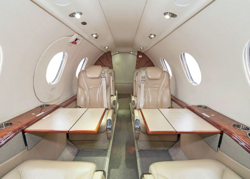 2007 Hawker Beechcraft Private Jet on Tarmac
