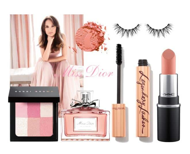 Miss Dior Beauty Set. SHOP NOW!!! #beverlyhills #beverlyhillsmagazine #beauty #makeup #lips #lipstick #natalieportman #dior #love #pink