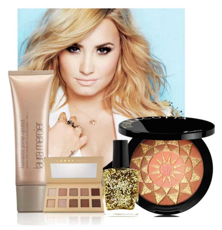 #DemiLovato Makeup Secrets. SHOP NOW!!! #beverlyhillsmagazine #beverlyhills #beauty #makeup #lipstick
