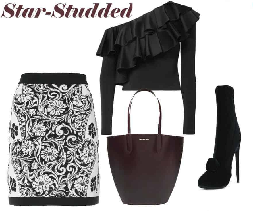 Star Studded Balmain Style. SHOP NOW!!! #BevHillsMag #beverlyhillsmagazine #fashion #style #shopping