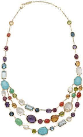 Ippolita 18K Rainbow Bib Necklace. BUY NOW!!!