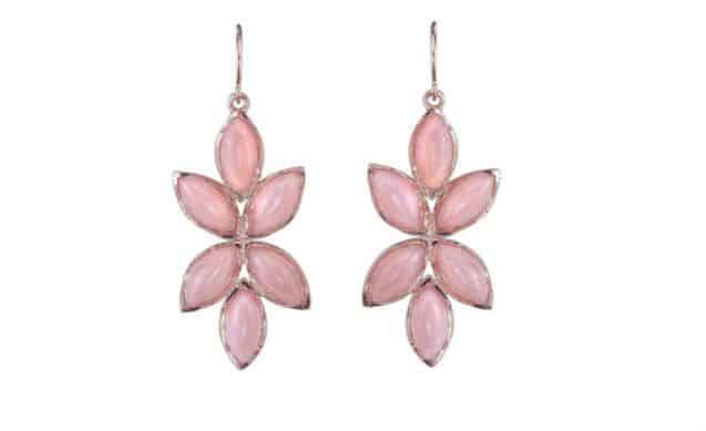 Irene Neuwirth Pink Opal Marquise Earrings. BUY NOW!!! #beverlyhills #beverlyhillsmagazine #bevhillsmag #shop #shopping #jewelry