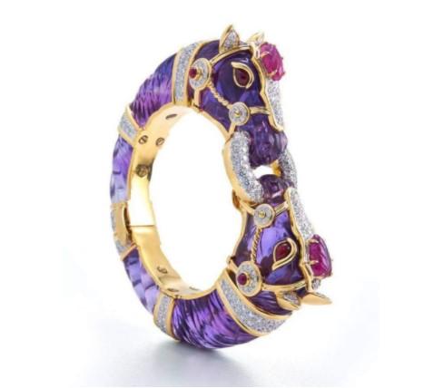 Jewelry-Diamonds-Sapphire-David-Webb--Bracelets-Beverly-Hills-Magazine