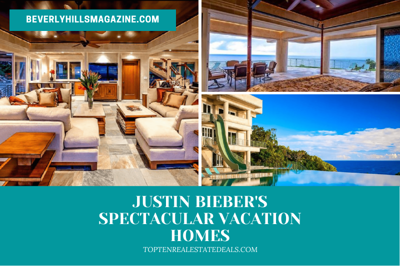 justin beiber's spectacular vacation homes:#beverlyhills #beverlyhillsmagazine #justinbeiber #vacationhomes #vacationhomesinhawaii #Haileybaldwin #waterfallingestate #rentalhomes #hawaii #celebrity #luxury