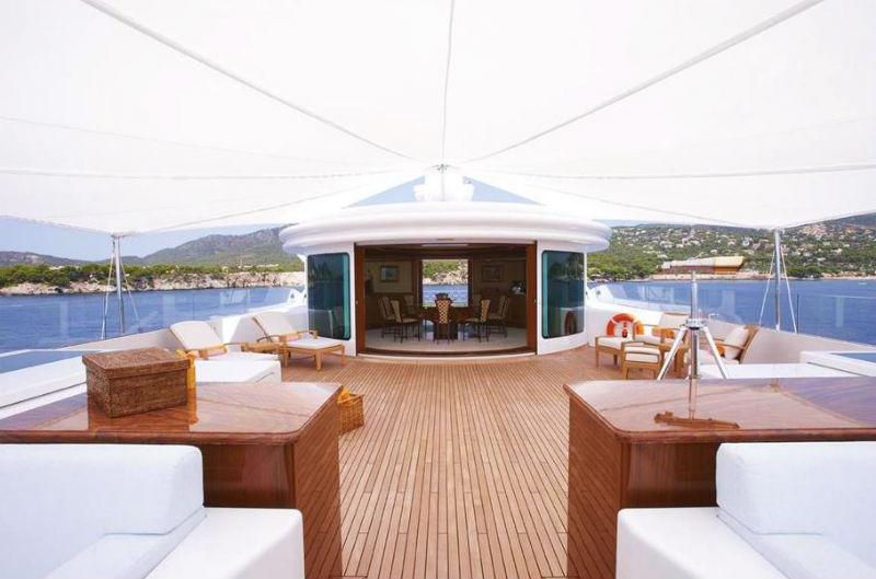 223' Luxury Yacht Large Sundeck