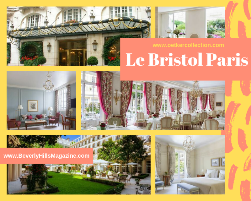 Le Bristol Paris  #Fivestarhotels #exclusiveescapes #paris #france #vacation #luxurylifestyle #hotels #travel #luxury #hotels #exclusive #getaway #destinations #beautiful #life #traveling #bucketlist #beverlyhills #travel #luxury #vacation #BevHillsMag
